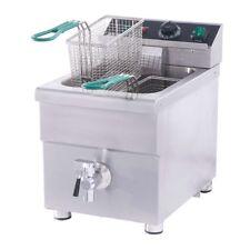 Naks 15 lb Etl Listed Induction Commercial Countertop Fryer