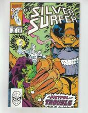 The Silver Surfer #44/Marvel Comic Book/1st Infinity Gauntlet/NM