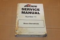 Mercury Mercruiser Service Manual #11– Bravo Sterndrives. Factory Service Manual