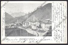 BERGAMO PIAZZA BREMBANA 06 Cartolina viaggiata 1906