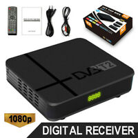 DVB-T2 HD 1080P USB Smart Digital Set Top TV Box HDMI Receiver & Remote Control