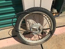 "1977 1978 Honda XL350  XL 350 Front wheel OEM Good Useable Shape! 21"" +hub brake"