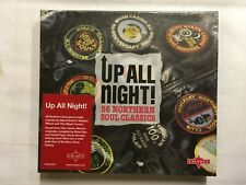 Up All Night!  CD's 56 Northern Soul Classics  NEW & Sealed CD40