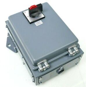 Hundt Stahlblechverteiler Hauptschalter 63A // Korrosionsfrei & stabil bei induz