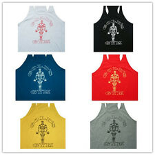 UK Men Golds Gym Muscle Sleeveless Shirt Top Sport Bodybuilding Fitness Vest Hot