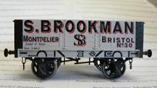 Dapol 7F-052-001 5 Plank Wagon 9ft Wheelbase S.Brookman 30 O Gauge