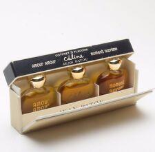 Jean Patou Vintage Caline Moment Supreme Amour Parfum Perfume Coffret 3 Flacons