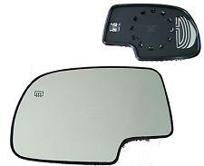 New Left Heat Mirror GLASS w/Backing FOR 2000 2001 2002-2006 GMC Yukon Denali