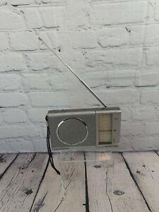 Grundig Vintage 1980 Hit Boy 60 Portable Handheld Radio WORKING FM LW MW