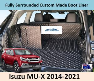 For Isuzu MU-X 2014-2021 Premium Custom Made Trunk Boot Mats Liner Cargo Cover
