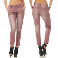 B.C.by Heine Skinny Trousers Jeans Aubergine 135-019 Narrow Red Stretch
