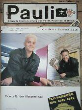 Programm 1999/00 FC St. Pauli - Fortuna Köln