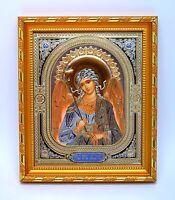 Ikone Schutzengel geweiht икона Ангел хранитель освящена в рамке 21x18x1,7 cm