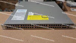 Cisco WS-C4948E-F-E Enterprise Services IOS Gigabit switch 4948E-F-E 4948 SFP+