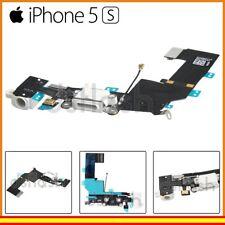8273b188423 Cable Conector Carga iPhone 5S Blanco Jack Auriculares Microfono Flex  Repuesto