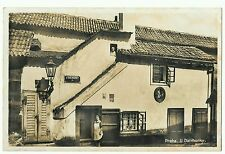 Praha - Prague, U Daliborky, The Golden Lane, RP Social history, Unposted