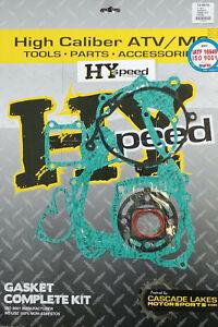 HYspeed Complete Gasket Kit Top & Bottom End Engine Set Honda CR85R 2003-2007