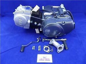 New Lifan 125cc Big Valve 4 Speed Semi Auto Pit Bike Engine. E/O. Monkey, C90,