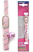 Collar de color principal rosa para gatos