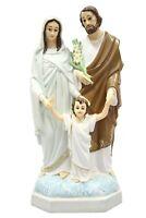 "15"" Holy Family Saint Joseph Jesus Mary Mother Italian Catholic Statue Sculpture"