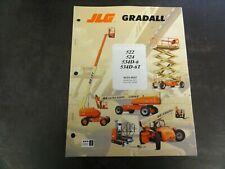 JLG Gradall 522 524 534D-6 534D-6T Lift Forklift Operation Maintenance Manual