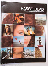 Hasselblad Camera System Sales Brochure Pamphlet Book - 1981 English - USED B69