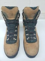 The North Face Mens X-2 Round Toe Lace Up Brown Black Hiking Boots Size 11.5