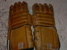 Vintage Ccm Leather 'Super Pro' 1209 Hockey Gloves