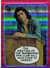 Topps 75th Anniversary Parallel Rainbow Foil Base Card 67 Welcome Back, Kotter