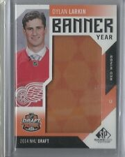 Dylan Larkin Jersey Patch SP Banner Year Rookie Authentic '16-17 UD SP Game Used