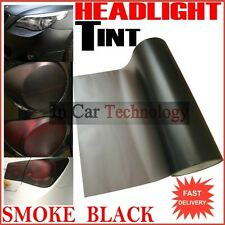 SMOKE Fog Tail Light Headlight Tint Tinting Film Car Van Wrap Sheet 30cm x 100cm