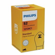 PHILIPS s2 Halogen VISION MOTO 12v 35/35w ba20d 12728c1 fari single