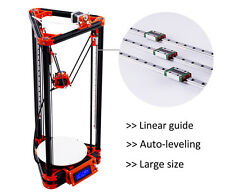 Flsun Large Size 3D Printer 3D Printer Kit Metal Heated Bed +Auto Leveling