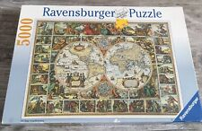 Ravensburger Historical Map of The World- 5000 Piece Jigsaw Puzzle