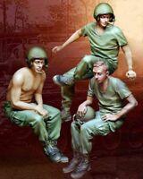 """1/35 Resin US Tankers of 3  Vietnam War """"Too Darn Hot""""  BL190"""