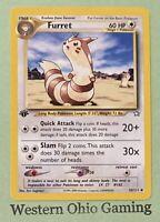 Pokemon Furret #35 1st Edition Uncommon USED READ Neo Genesis Single