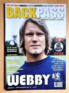 Backpass Magazine No 24 Chelsea Norwich Preston Manchester United Brian Clough