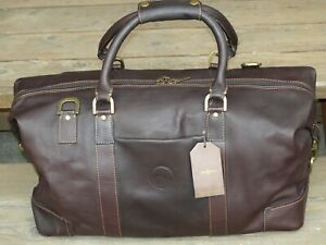 Links and Kings Highlander Leather Duffel Bag