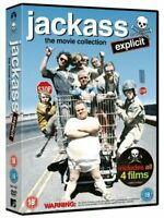 Jackass The Movie Collection (3 Films)  DVD NEW 1-2-3 Gift Idea Official NEW