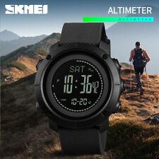 SKMEI Men's Watch Pedometer Altimeter Barometer Compass LED Wristwatch 1427 750
