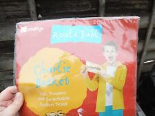 SMIFFYS ROALD DAHL BRAND NEW CHARLIE BUCKET DRESSING UP OUTFIT AGE 10/12