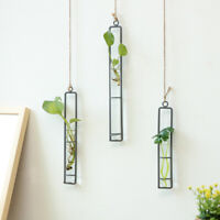 Crystal Glass Wall Hanging Flower Vase Planter Terrarium Container Pots S/M/L
