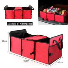 Foldable Car Trunk Organizer Expandable Cargo Trunk Storage Organizer Containers