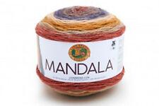 New Lion Brand yarn Mandala self-striping cake Centaur acrylic easy care 5.3 oz