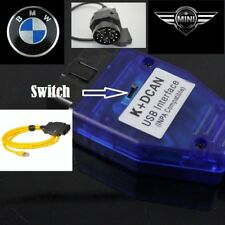 BMW USB - OBD K + Dcan Diagnostic Cable Switched NEWEST SOFTWARE