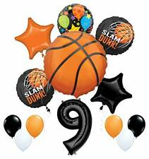 Mayflower Products Basketball 9th Birthday Party Supplies Nothin' But Net