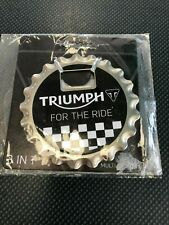 Triumph Motorcycles 3 in 1 Bottle Opener, Magnet, Coaster