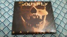 Soulfly - Savages [Digipak] (CD, Oct-2013, Nuclear Blast) NB 3161-8