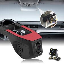 1080P Full HD Video Dash Cámara 170°WiFi Coche DVR Conducir Grabadora G-Sensor
