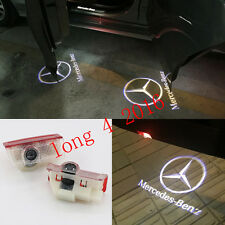 2x Ghost LED Door Step Courtesy Shadow Laser Lights For Benz A B E ML C GL-Class